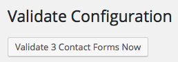 Validate Contact Forms now